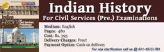 Indian History For Civil Services Pre Examination