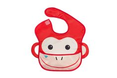 Oopsibaby Waterproof Feeding Bib, Mason the Monkey 857010005729 Waterproof Bibs, Dog Backpack, Book Worms, Cleaning Wipes, Monkey, Bags, Equestrian, Videogames, Health