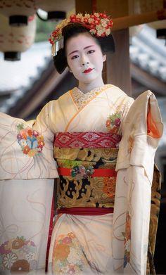 Komako during Setsubun