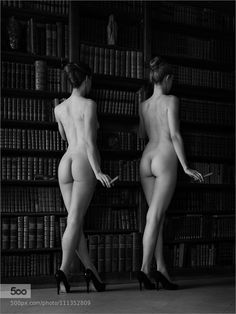 Almost Twins B&W by zurmuehle from http://ift.tt/1T7xW9o