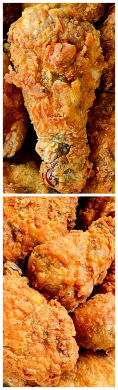Southern KFC SECRET Fried Chicken Recipe ~ So delicious... This recipe pretty close, but BETTER!