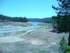 Trinity Lake... it's dry!