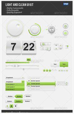 18 Incredibly Cool User Interface Kits