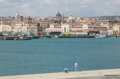 Catania - view from port