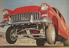 Chevy gasser buggy spring suspension idea for model profect 1955 Chevy, 1955 Chevrolet, Car Tv Shows, Old Hot Rods, Vintage Race Car, Us Cars, Drag Cars, Drag Racing, Auto Racing