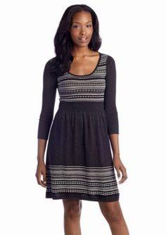 Spense  Fair Isle Sweater Dress