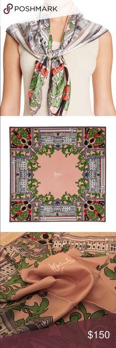 Kinloch Buckingham Scarf 100% Silk scarf. Brand New! With tags. Kinloch Accessories Scarves & Wraps