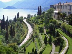 Villa Serbelloni garden, Bellagio - Lake Como | #lake #Como #Lago #Italy #lakecomoapp #villa #bellagio Lake Como Italy, Away We Go, Living In Italy, Great Lakes, Places To See, Beautiful Places, Villa, Country Roads, Travel