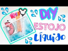 DIY - ESTOJO LíQUIDO - Volta as Aulas - por Prih Gomes - YouTube