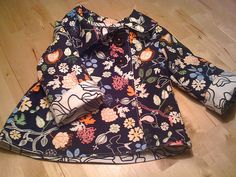 reversible jacket; ikea fabrics by love me twice today, via Flickr