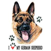 German Shepherd T-Shirt - American Dog: Nothing beats the exceptional look and quality of our German… #PetProducts #PetGifts #AnimalJewelry