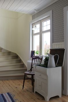 another view, love the planked walls