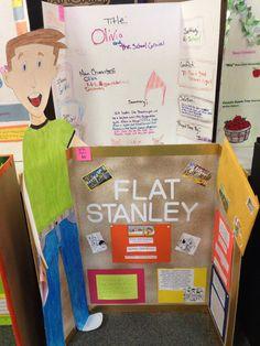 Flat Stanley Fair Projects, School Projects, School Ideas, Pie Corbett, Reading Fair, Flat Stanley, Story Maps, Room Mom, Science Fair