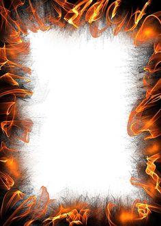 Papieru, White, Puste, Granicy, Ramki, Tle, Ogień