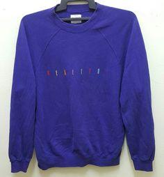 508fe57ba94 United Colours Of Benetton Vintage Rare Sweatshirt by DONPACINO Benetton