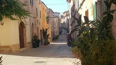 Beautiful oldtown Alcudia Old Town, Mountains, Travel, Beautiful, Viajes, Destinations, Traveling, Trips, Bergen