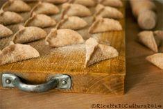 Ricette di Cultura: Triangolotti di farina di farro con radicchio e gorgonzola