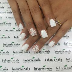 # 39 Chic Summer Acrylic Fingernail In White to Copy Here are over 39 stylish white acrylic nails for you to undertake this summer. Chic nails are every women dream. no one desires to envision atrocious nails. Orange Nail Designs, Flower Nail Designs, Best Nail Art Designs, Nail Designs Spring, White Acrylic Nails, Acrylic Nail Art, Acrylic Nail Designs, White Nail, Nails Design With Rhinestones