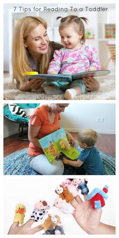 7 Tips for Reading to a toddler- Parenting, education,
