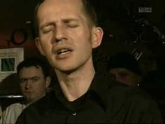 Iarla O Lionaird singing in the Sean Nos' tradition-in Gaelic. His singing is a pure expression of the Irish spirit.