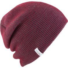 Coal Binary Beanie ($20) ❤ liked on Polyvore featuring accessories, hats, beanie, beanie hats, coal hats and coal beanie