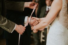 Are you planning a hand-fasting ceremony? Read our essential guide to hand-fasting rituals from what to do to where to get a hand-fasting cord. Wedding Ceremony Script, Unity Ceremony, Elope Wedding, Wedding Ceremony Decorations, Wedding Ideas, Wedding Stuff, Wiccan Wedding, Wedding Rituals, Celtic Wedding