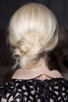 Casual Chic Messy Bun for Medium Hair