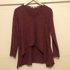 High low top!!! No trades Foreign Exchange Tops Tees - Long Sleeve