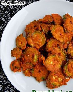 Bittergourd 65 Recipe / Pavakkai 65 / Karela 65 is a easy, deep fried snack made with bittergourd. Serve this as side dish or as a tea time snack. Red Beans And Rice Recipe Easy, Red Rice Recipe, Rice Recipes Vegan, Vegetarian Recipes, Cooking Recipes, Bitter Gourd Fry, Vegetarian Platter, Comida India, Vegetable Recipes
