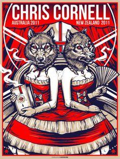 Chris Cornell - Australia, New Zealand