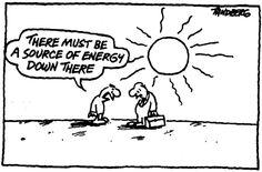 There must be a source of energy down there #solarenergy #renewable #oil