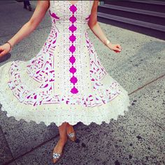 Versailles Lace Dress #Anthropologie #MyAnthroPhoto