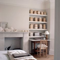 Home Office: grey: alcove storage: Inspiring Interiors: Interiors: Living: Red Online
