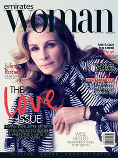 Emirates Woman Magazine [United Arab Emirates] (February 2014) Julia Roberts