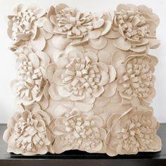 Leila Pillow flower pillow