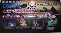 new 2017 Tourch Police  Electric Shock  LED Flashligh replaceable batteries  #niemarkowe