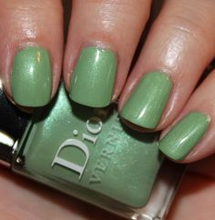 Dior - Waterlily (from Spring 2012 Garden Party collection) -- gorgeous color and it's floral-scented!