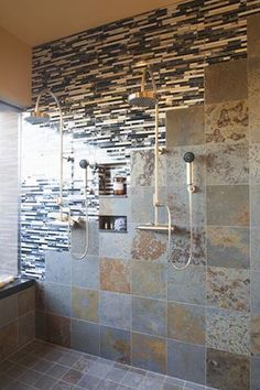 When you have trouble deciding between rock and tile, things can get interesting!