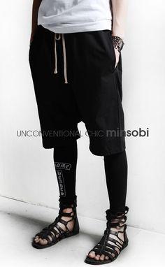 【楽天市場】【minsobi】サルエル風ハーフパンツ メンズ パンツ メンズ ハーフパンツ メンズ ショートパンツ サルエル メンズハーフパンツ ハーフパンツ ブラック パンツ ショートパンツ ボトムス メンズファッション サルエルパンツ【code-minsobi】:minsobi