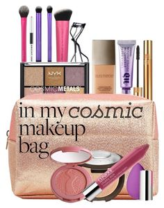 """Cosmic Cosmetics"" by rachael-aislynn ❤ liked on Polyvore featuring beauty, Shiseido, Marc Jacobs, Yves Saint Laurent, Laura Mercier, Urban Decay, beautyblender, Becca Cosmetics, tarte and Clinique"