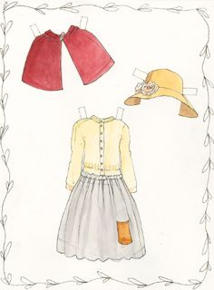 Paper doll cut outs - DITK.........Childhood memories :)