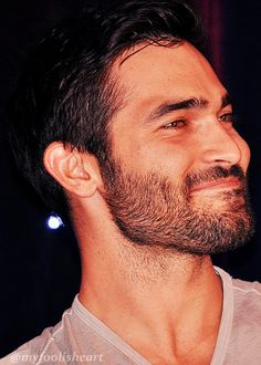 Tyler Hoechlin at the Wolfsbane Con , in London - Many pics and videos on Tumblr . Here pic by myfoolisheart