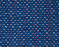 3 1/4 Yards of Vintage Calico Print Cotton by CosmosCoolSupplies, $17.50