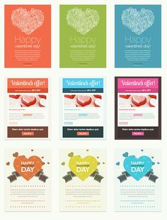 Creative Email Newsletter Psd Template  Email Newsletters