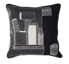 Wrong-for-Hay-11-Nathalie-du-Pasquier-Embroidered-Cushion * Source : design-milk.com