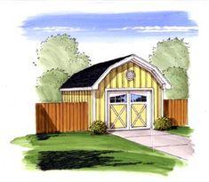Farmhouse Traditional Garage Plan 44168 Elevation