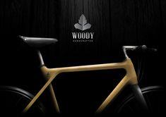 Woody - wood bike design by Milos Jovanovic, via Behance