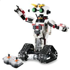 În mișcare cu roboții