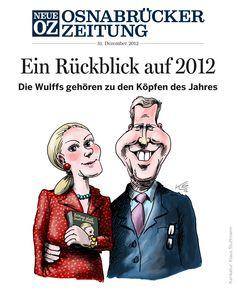 Unser iPad-Cover vom Silvestertag. Es ging unter anderem um die Köpfe des Jahres. Weitere Infos zur NOZ-App auf noz.de/digital