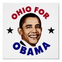 Ohio For Obama Poster.